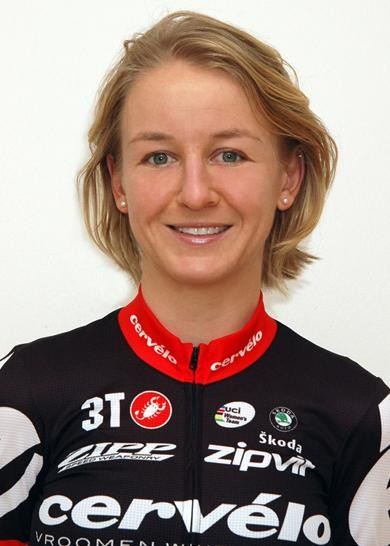 Emma Pooley in her Cervelo Test Team kit