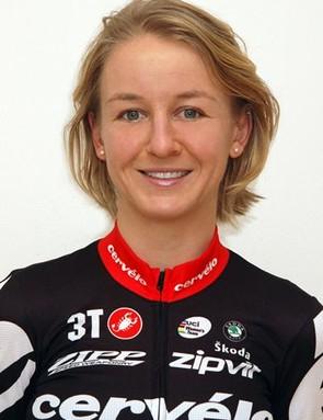 Emma Pooley in her Cervelo Test Team kit