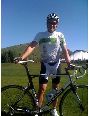 BikeRadar's US editor after a nice gallop on the Race Master in Sun Valley.