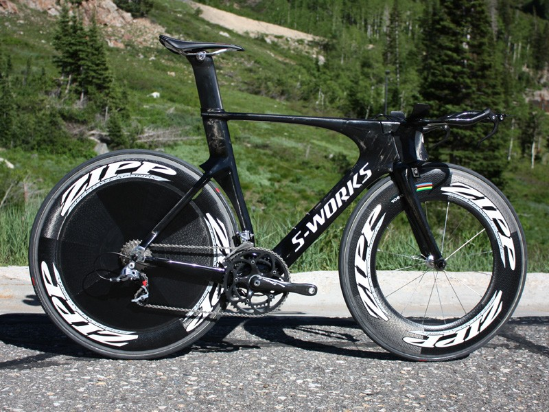 Specialized's newest time trial weapon is the Shiv - a menacing name for a not-so-friendly-looking bike.