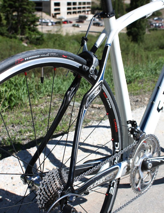 Roubaix seat stays will continue to employ their radical shaping and Zertz viscoelastic inserts for a smooth ride.