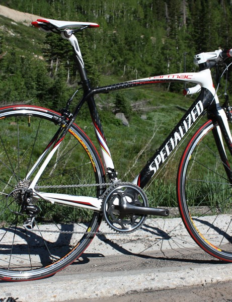 The 2010 Tarmac Comp frame is essentially the same as the 2009 Tarmac Expert.