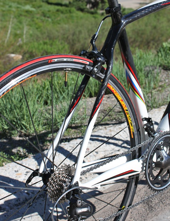 The 2010 Tarmac Comp will use wishbone-style seat stays.