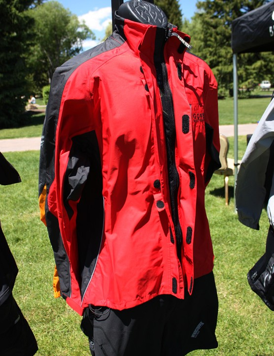 The Gore Bike Wear Alp-X jacket combines a Gore-Tex Paclite shell with a cycling-specific cut and a wealth of clever features such as the full-length front vent and drop-down tail.