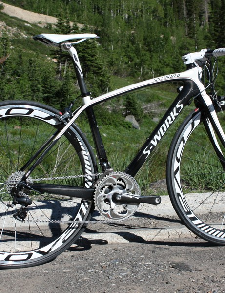 Specialized's new women's-specific S-Works Amira is an analogue to the racy S-Works Tarmac SL2.