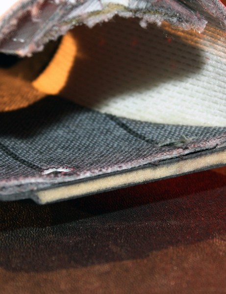 Specialized has traded in last year's solid carbon construction for a new hollow foam core configuration.