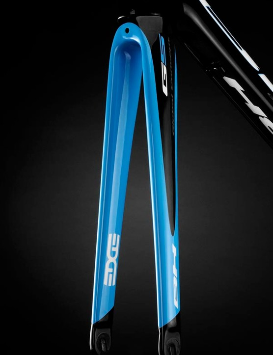 The fork has been designed for maximum rigidity