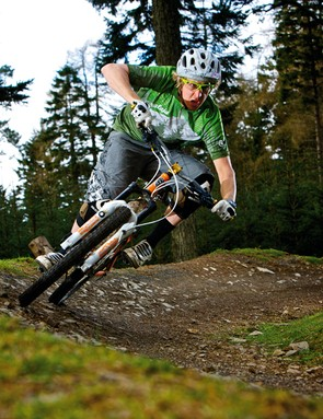 First-time freeriders, part two: Berms