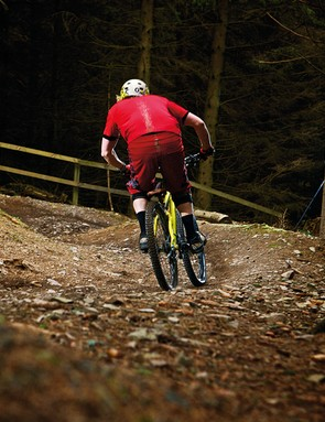 First-time freeriders, part two: Approach S-berms a little slower