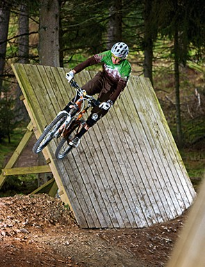 First-time freeriders, part two: Off the wall