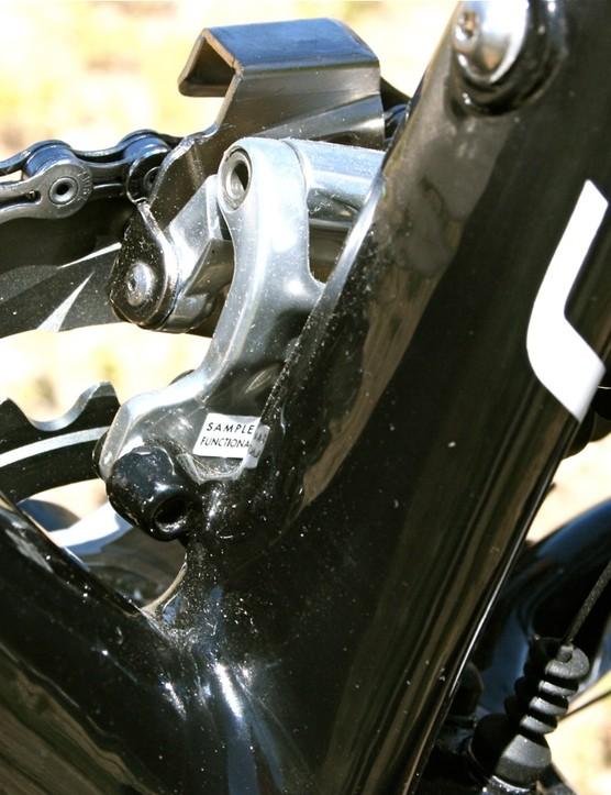 Direct-mount front derailleur, compatible
