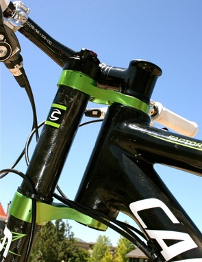 It may look strange, but Cannondale's test labs and racers have shown consistent results.