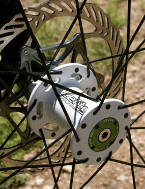 Custom Lefty-compatible front hub