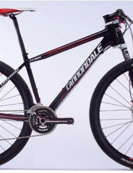 The 2010 Cannondale Flash Carbon 2 29er hardtail.