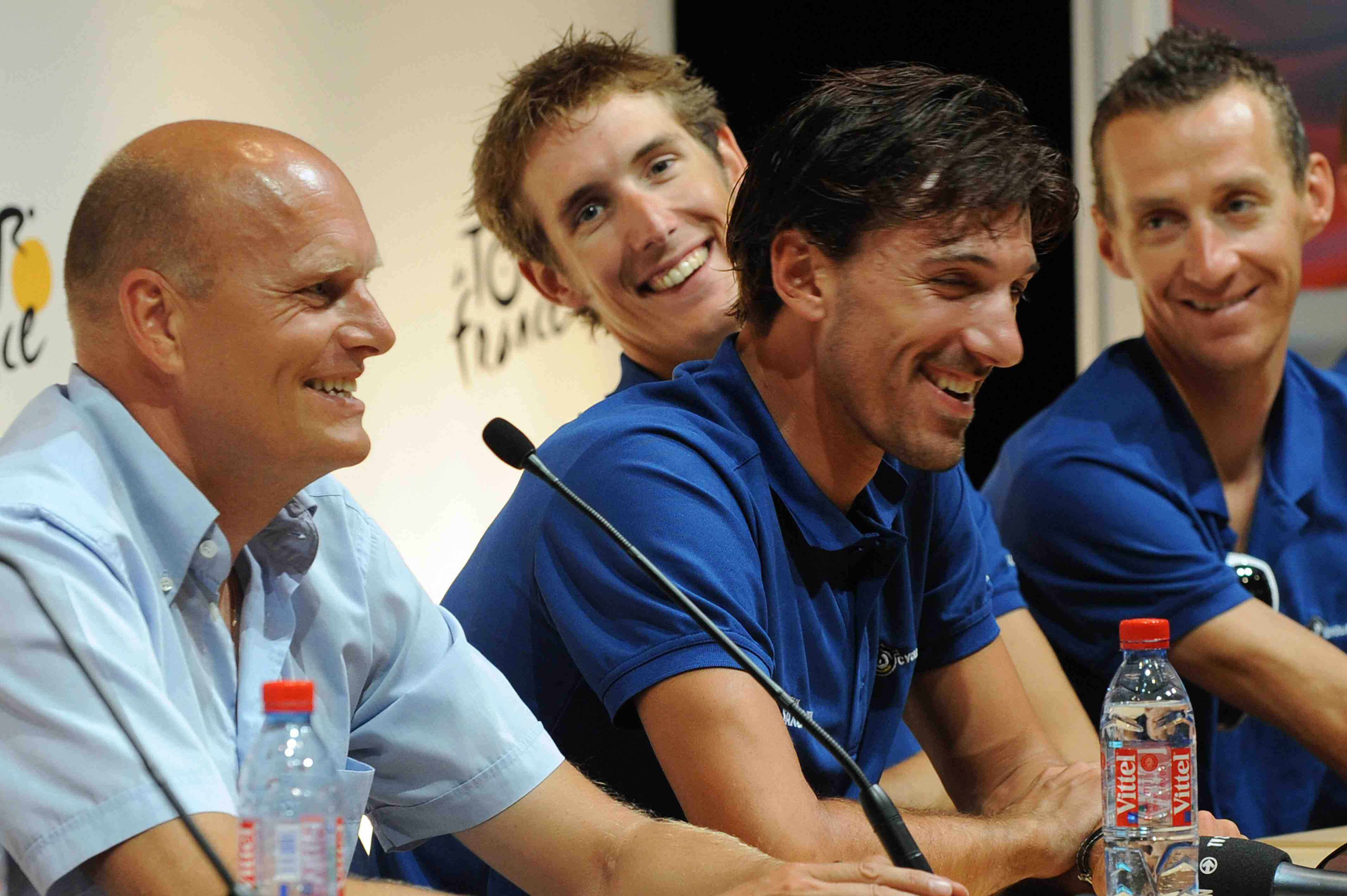 Why are the Saxo Bank men smiling? Was it something Friebe or Bacon said in Monaco? Stay tuned...