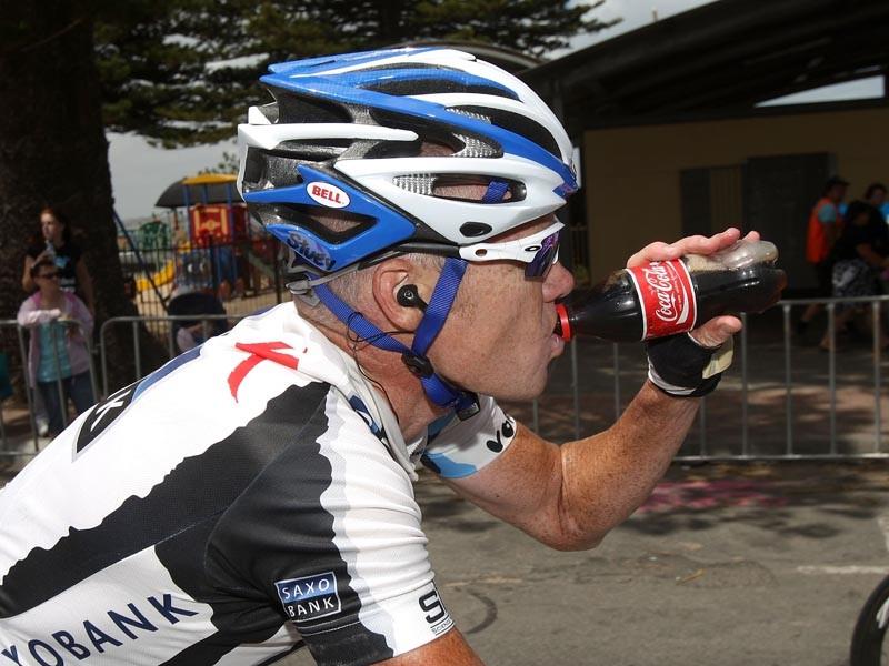 Stuart O'Grady of Australia, riding for Team Saxo Bank