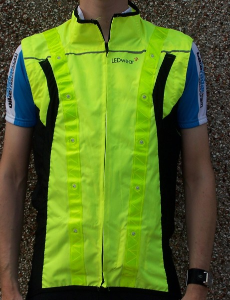 The sleeves can be zipped off to convert the jacket into a gilet - useful, considering how sweaty it gets