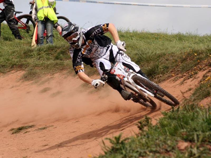 Scott Beaumont in action