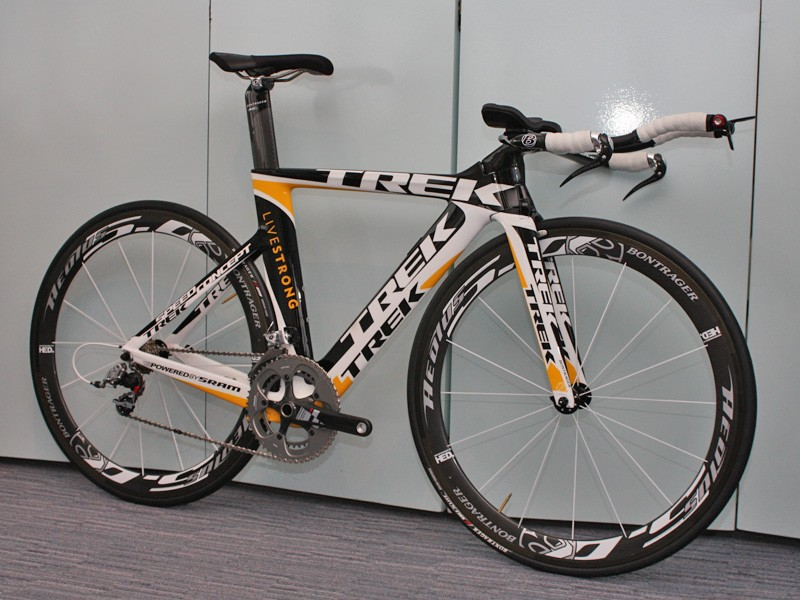 This is likely to be little more than a white, yellow and black blur come Saturday's time trial.