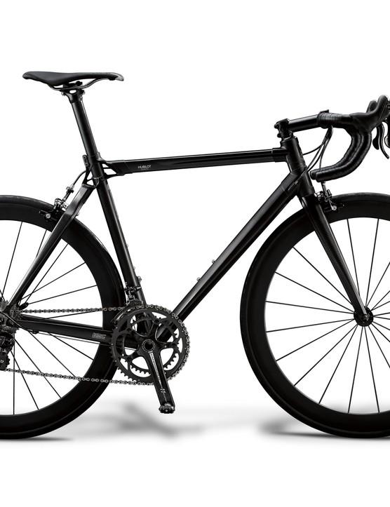 The limited-edition BMC All Black Hublot Team Machine.