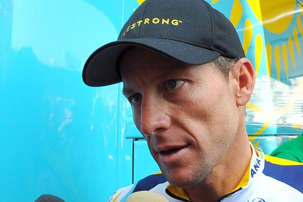 Lance Armstrong says Astana is keeping its options open as far as the team leadership goes