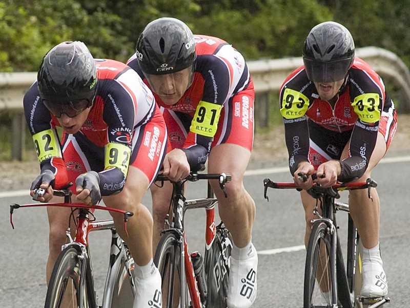 Shorter Rochford's Mark Holton, Charles McCulloch and Adam Duggleby took the national title