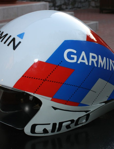 Giro debuted a new time trial helmet at the opening stage of this year's Tour de France.