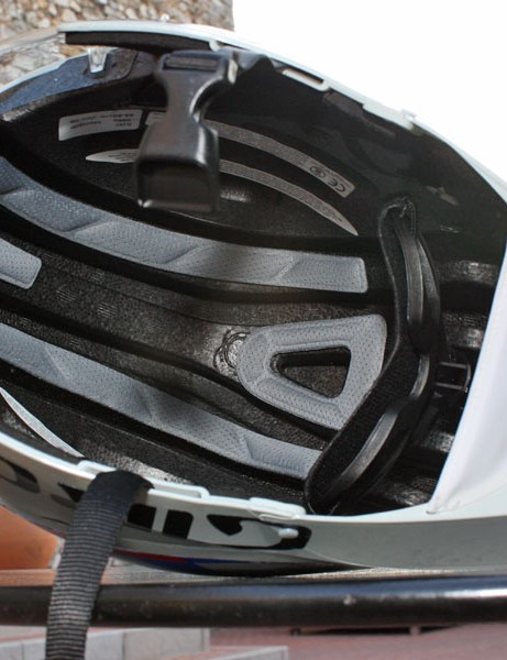 The key to the ventilation performance of the new Giro helmet is these incredibly deep channels that run through the entire length of the helmet.  Riders can reportedly actually feel air being draw in through the front of the helmet around their foreheads and over the top of their heads.