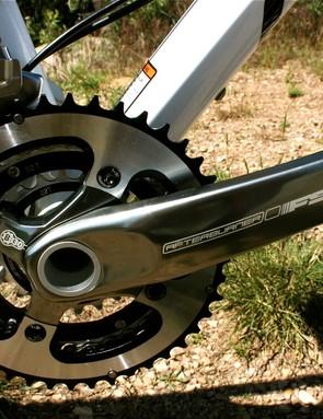 The BB30 FSA Afterburner crankset.