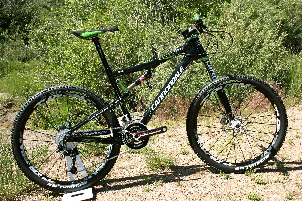 The 2010 Cannondale Rize One.