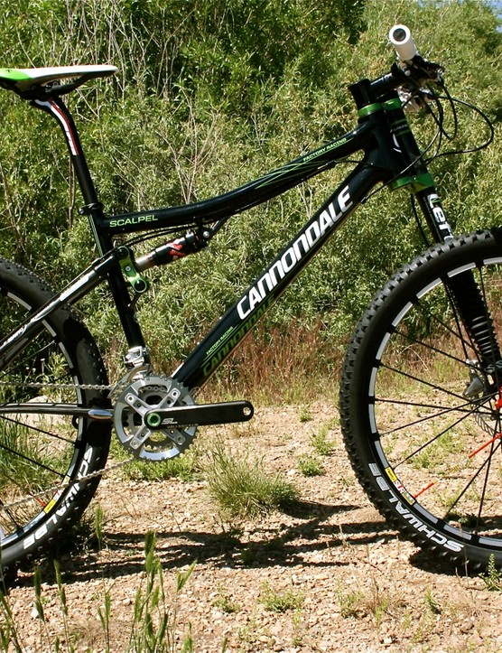 The 2010 Cannondale Scalpel Carbon Team.