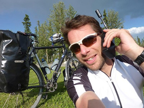Mark Beaumont has now reached the Yukon in Canada after scaling Mount McKinlay. He is keeping in regular contact with the BBC so people can follow his progress