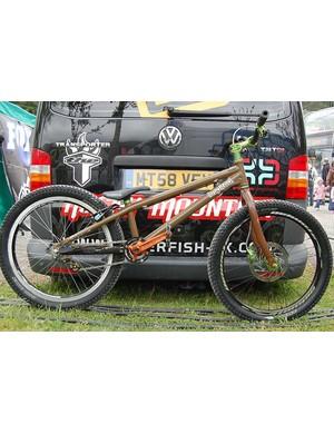 Danny MacAskill's Inspired bike
