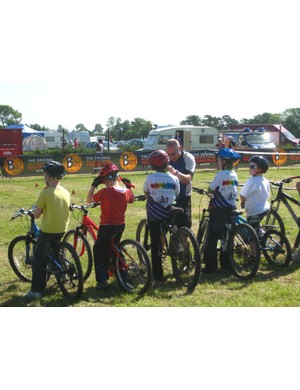 The Junior Skills Arena will be a great place for youngsters to improve their riding