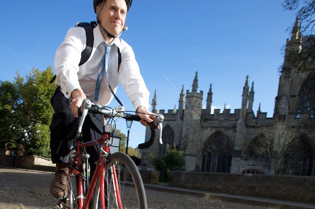 A new campaign aims to double the number of cyclists in Exeter