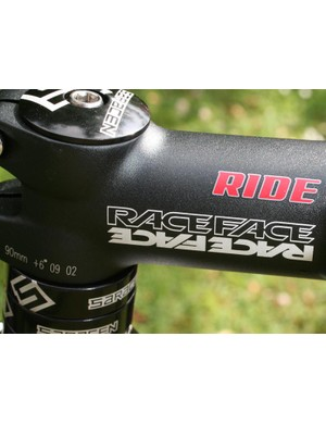 Raceface stem and bars