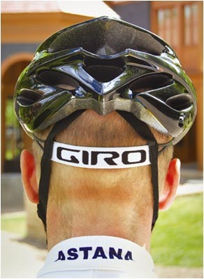 Giro Prolight - that strap saves weight over the plastic retention system