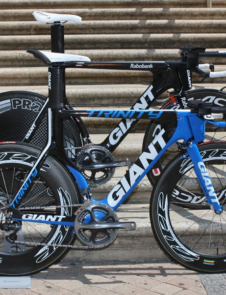 Come September, consumers will be able to buy virtually the same exact bike used by Rabobank for time trials