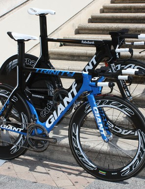 Speed comes at a price, however. The top-end Shimano Dura-Ace Di2-equipped Giant Trinity Advanced SL will cost a hefty US$14,000