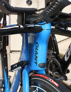 The AeroDrive front end includes the head tube, upper stem, lower stem and integrated base bar