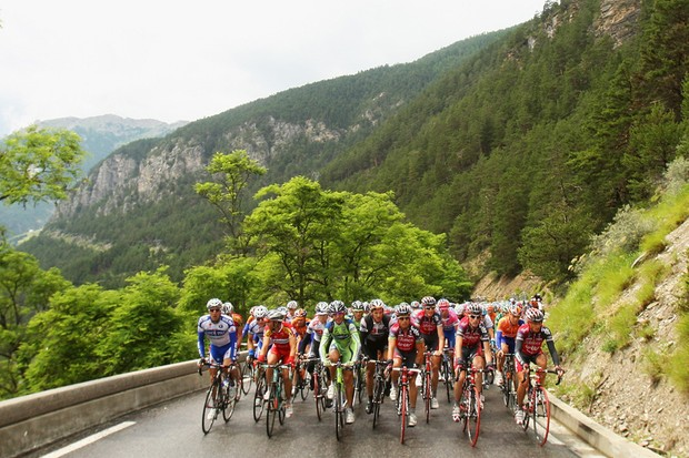 The Tour peloton hits the mountains in Friday's stage 7