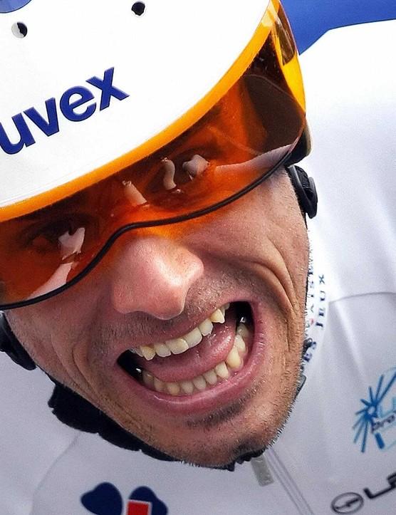 Sebastien Joly of the Francaise des Jeux team.