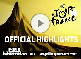 Our 2009 Tour de France video highlights player.