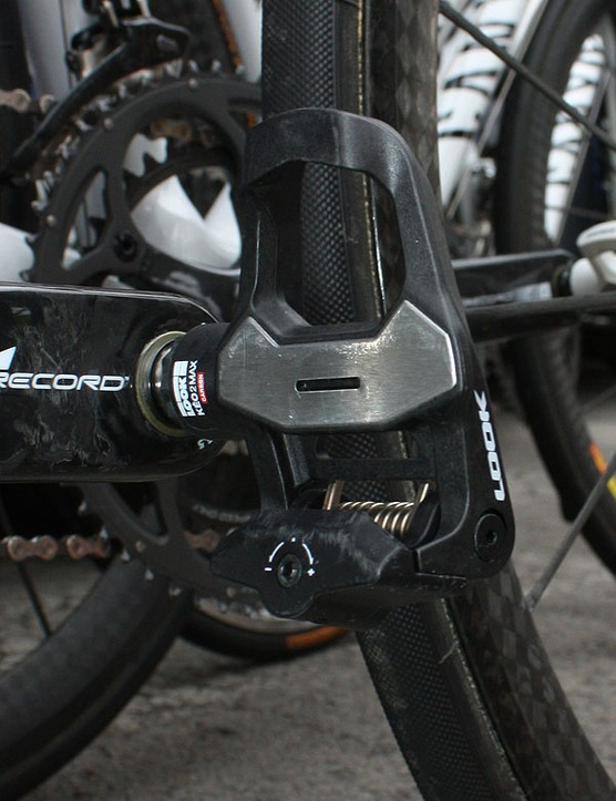 Look's new KeO 2 Max pedals have a larger platform for improved stability.