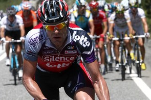 Cadel Evans went on the attack in stage 8