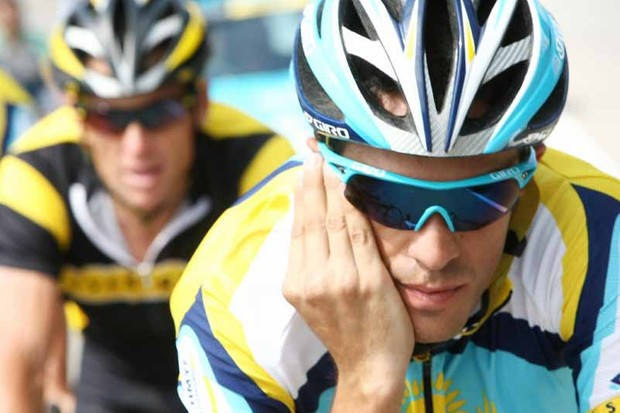 Could Alberto Contador join a new team set up by Formula One's Fernando Alonso