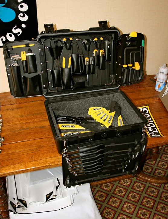 The 2010 Pedro's Master Tool Kit 3.0 evolved based on pro mechanics' feedback.