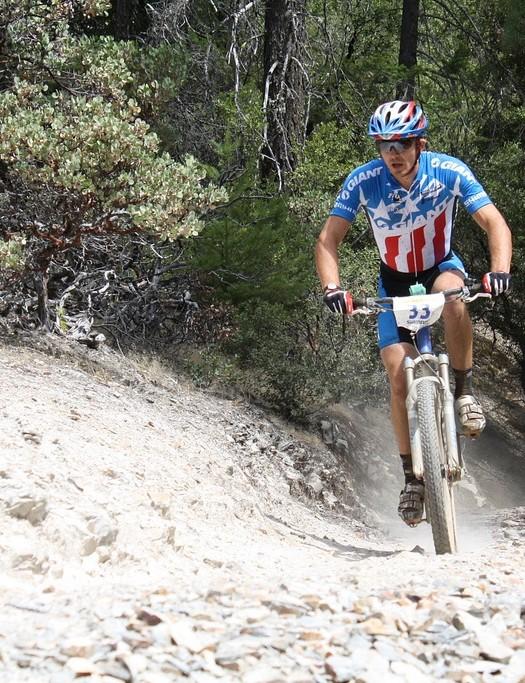 Giant's Adam Craig made an auspicious race debut, winning both events.