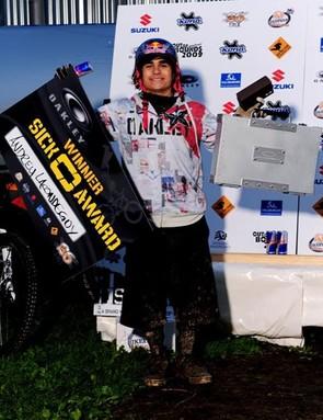 Andreu Lacondeguy wins Oakley Sick O Award