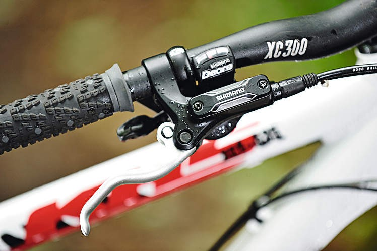 The Shimano Deore shifters  provide perfect service